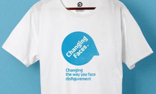 Charity Awareness Branded Merchandise For Changing Faces - Header Image