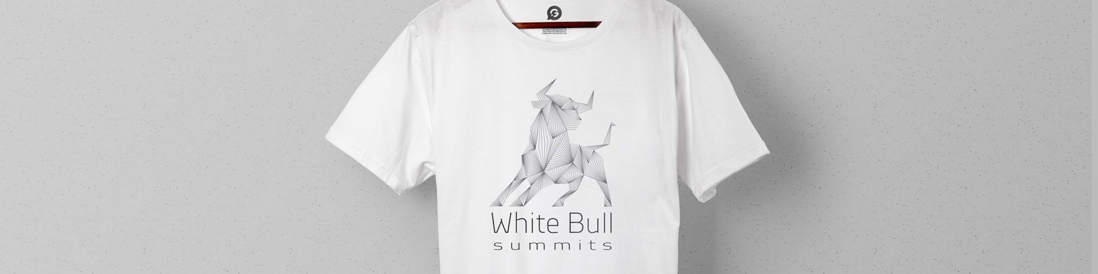 Printed Event Merchandise For White Bull Tech Summit - Header Image