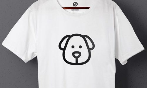 Promotional T-Shirts for Theresa's Dogblog - Header Image