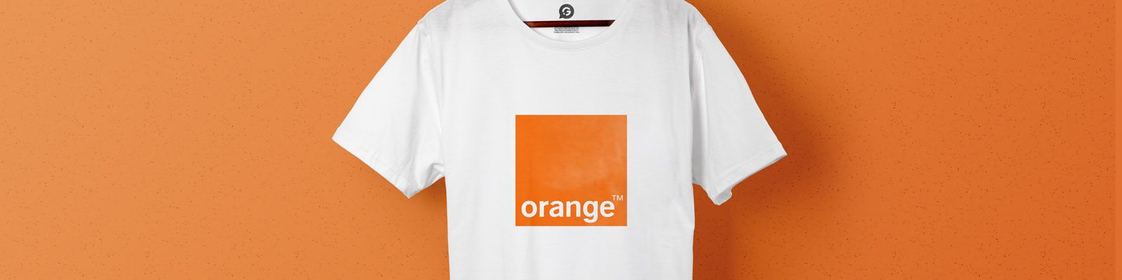 Orange's New Mobile Technology Promoted Through Printed T-Shirts - Header Image