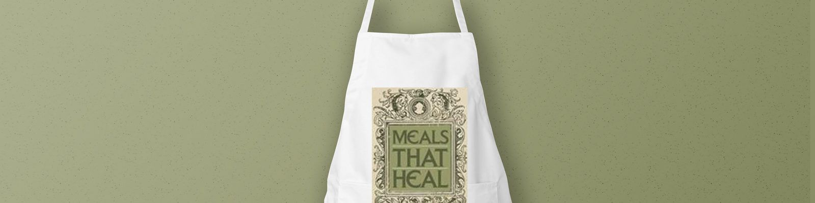 Personalised Printed Eco-Friendly Aprons for 'Meals That Heal' - Header Image