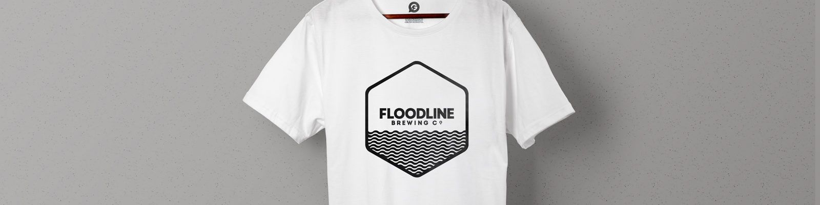 Promotional Printed T-Shirts For Floodline Brewing Co. - Header Image