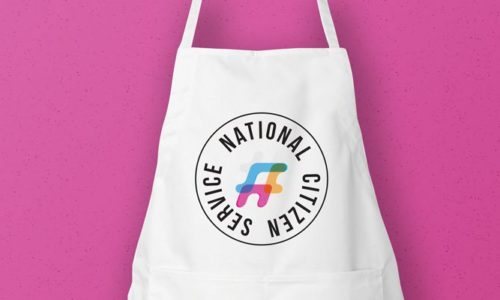 The National Citizen Service Looked Smart in their Printed Aprons - Header Image