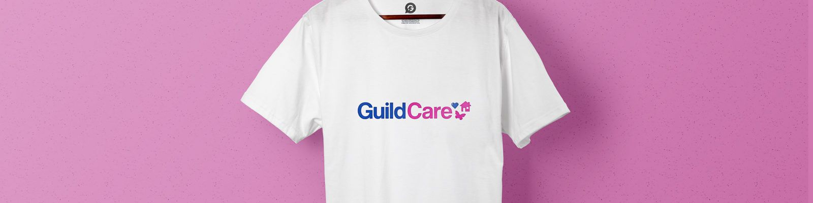 Guild Care Uses Printed T-Shirts to Promote Their Charity - Header Image