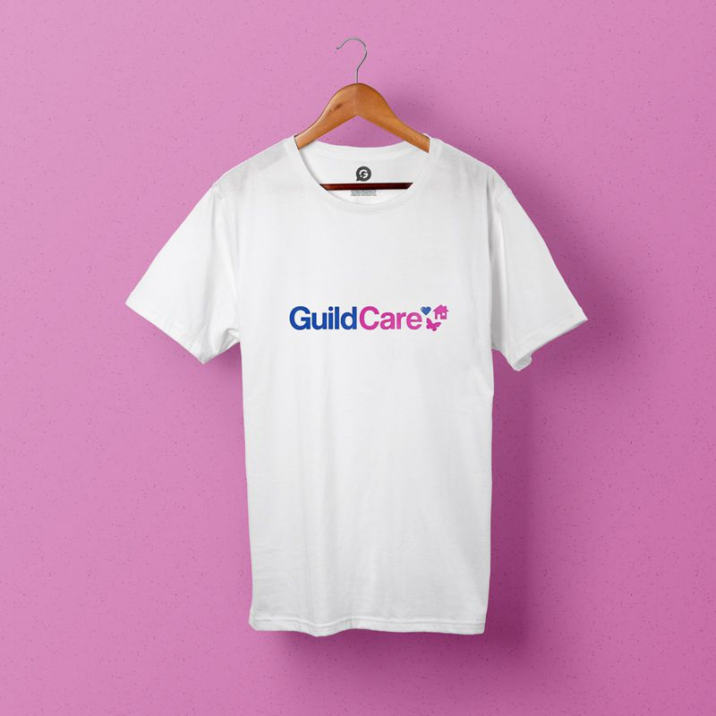 Guild Care Uses Printed T-Shirts to Promote Their Charity
