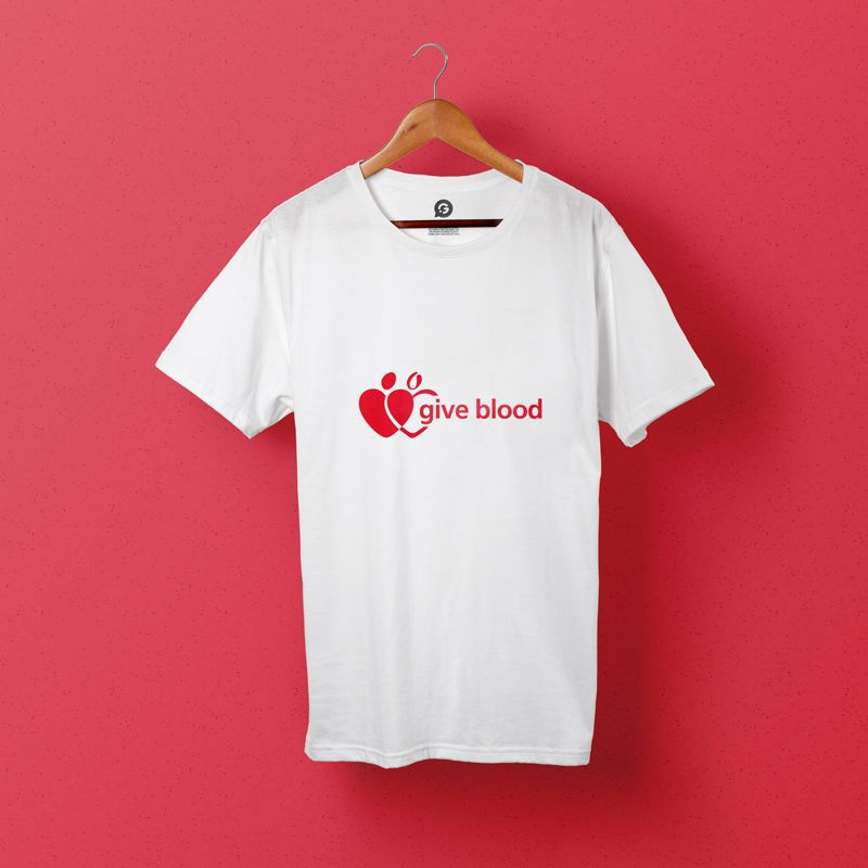 How Printed Clothing Helped The Give Blood Campaign