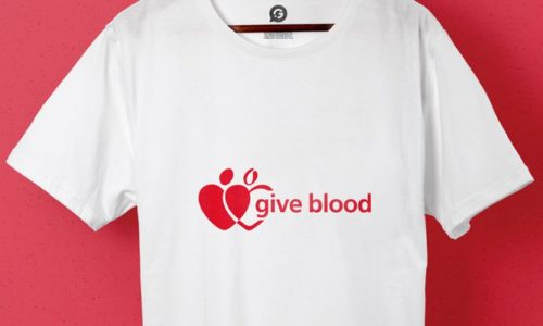 How Printed Clothing Helped The Give Blood Campaign - Header Image