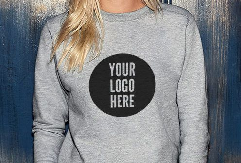 personalised jumper. Long-sleeved