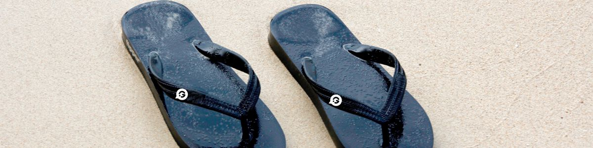 Personalised flip flops - Header Image