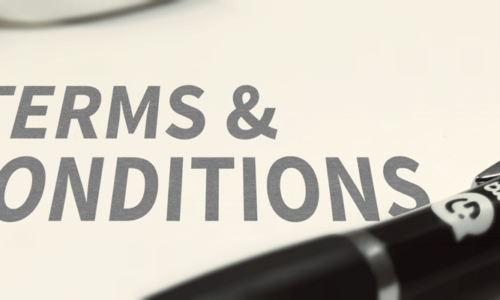 Garment Printing Terms and Conditions - Header Image