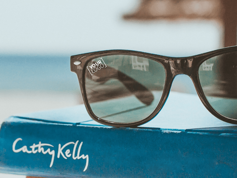 Printed sunglasses for summer merchandise