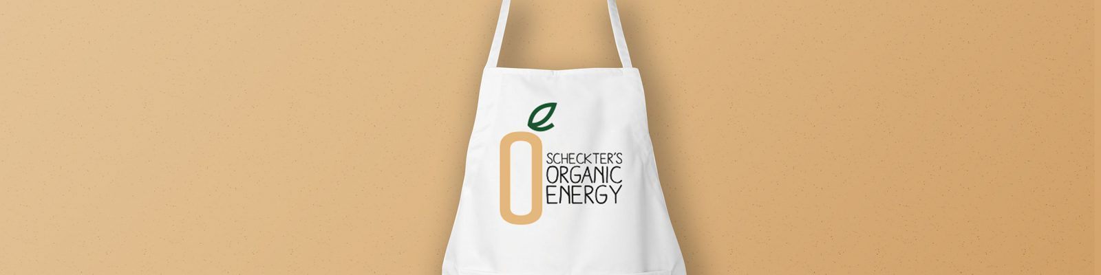 Personalised aprons and printed tote bags for Scheckter's Organic Energy - Header Image