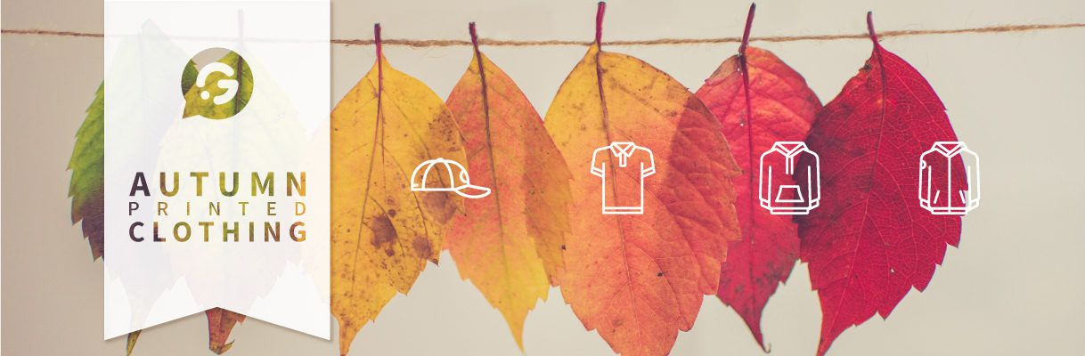 Autumn printed clothing: Create your personalised workwear whilst saving on budget costs! - Header Image