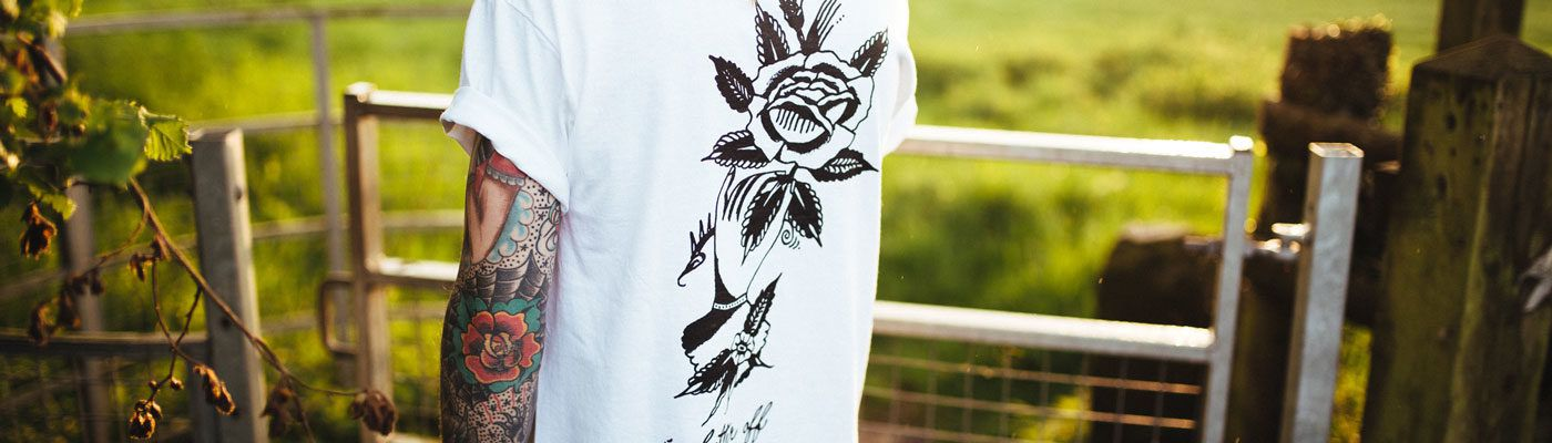 Get Inkspired – Can tattoo art inspire your custom clothing? - Header Image
