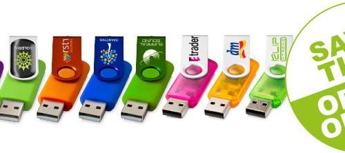 Personalised USB sticks - Header Image