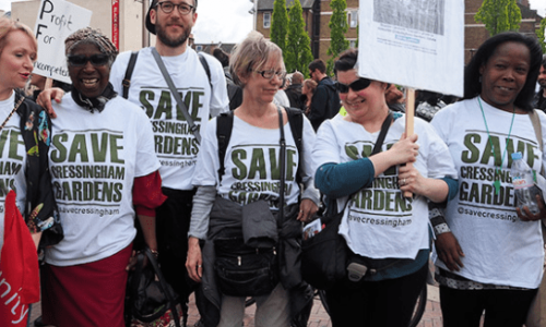 Personalised t-shirts help Brixton Fightback raise funding and awareness - Header Image
