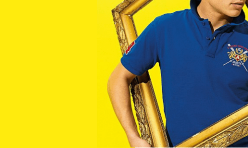 Printed Polo Shirts - Header Image