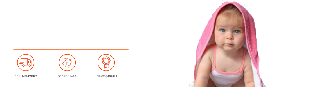 Personalised Baby Dressing Gown - Header Image