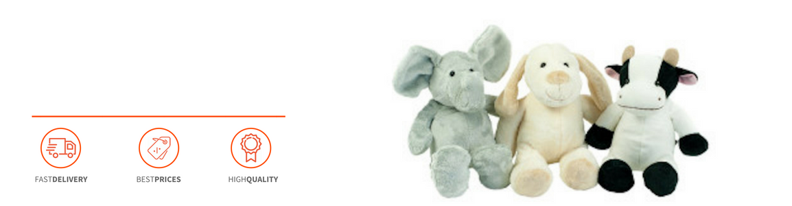 Personalised baby toys - Header Image