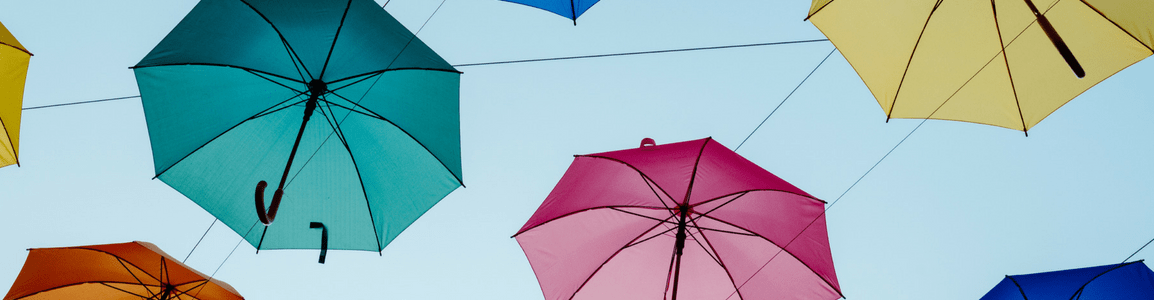 Personalised Umbrellas - Header Image