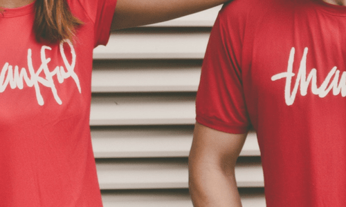 Personalised T-shirt Printing - Header Image