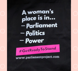 tote bag printing for the parliament project
