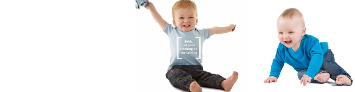 Personalised Baby T-shirts - Header Image