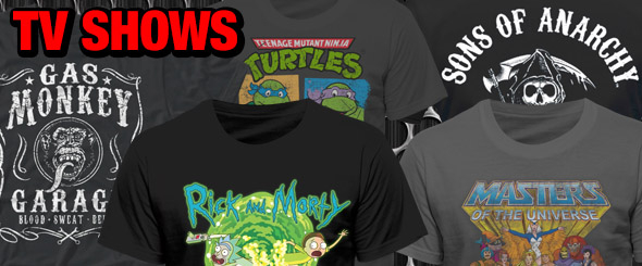 Are TV Show T-Shirts the New Band Tees? - Header Image