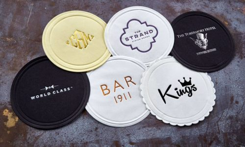 branded coasters